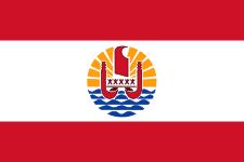 Drapeau polynesie francaise